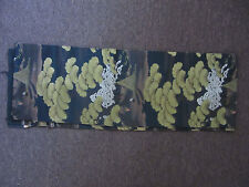"""Vintage Chinese Tapestry/Fabric Silk? Thread 156"""" x 26"""""""
