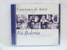 Canciones De Amor En Boleros Audio CD Sony Music Latin 8876 543913 2 USA 2013