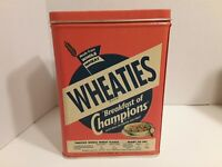 *Wheaties Tin, 1995* Contained Breakfast of ChampionToasted Whole Wheat Flakes
