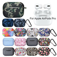 Shell Bluetooth Earphone Colorful Oil Printing Cover For Apple AirPods Pro