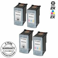 4 BLK PG-40 & COLOR CL-41 Print Ink Cartridge for Canon Pixma mp150 mp140 mp160