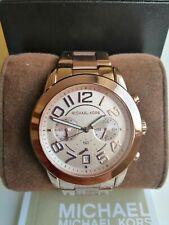 Michael Kors Rose Gold Tone Chronograph Ladies Watch MK5727