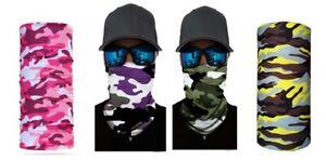 High Quality Multi Function Camouflage Bandana Magic Scarf Face Mask