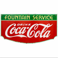 Drink Coca Cola Fountain Service Wall Decal 24 X 13 1930s Style Coke Kitchen
