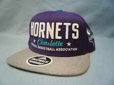 Adidas Charlotte Hornets Chain Star BRAND NEW Snapback hat cap NBA Flat Bill