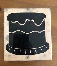 Rubber Stamp Birthday Cake - Large