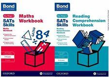 BOND KS2 SATS MATHS, READING & COMPREHENSION WORKBOOK BUNDLE FOR AGES 9-10