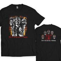 The 5 five Deadly Venoms Rare T Shirt  Men's S - 3XL