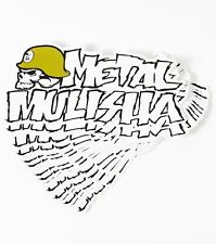 "METAL MULISHA Iconoclast Logo Optic White Sticker Decal 8"" NEW"
