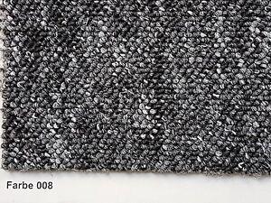Teppichboden Auslegware rustikale Schlingenware 400 u. 500cm Breite anthrazit