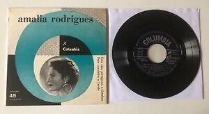 """FADO EP 7"""" COLUMBIA ITALY 1962 AMALIA RODRIGUES UMA CASA PORTUGUESA COIMBRA DOCE"""