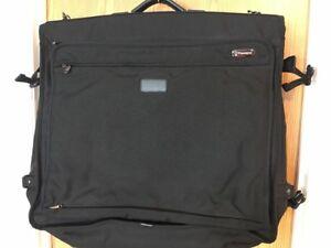 "Travelpro Crew Bi Fold Garment Bag 24"" Black Platinum 3  carry on luggage"