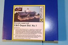 C&O DEPOT STD BY BLAIR LINE N SCALE # 085
