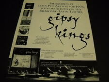 GIPSY KINGS June 27 - July 17, 1994 TOUR DATES Promo Poster Ad mint condition