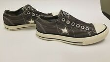 Grey Low Top One Star Converse Unisex Mens Size 4 Womens Size 6