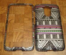 Silver Tribal Case Cover for Motorola Moto Maxx XT1225 Quark Ballistic Nylon