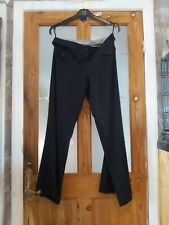 ladies new look black trousers size12 flared