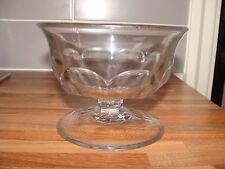 Vintage Thick Glass Bon Bon Sweet Bowl