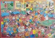 Jan Van Haasteren RARE 2000pcs VINTAGE puzzle THE 19TH HOLE 1757