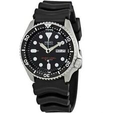 Seiko SKX007 J1 Black Men's Automatic 200m Analog Divers Watch (Made in Japan)