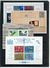 Stamps from Jamaica souvenir sheets MNH