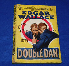 BOOK LIVRE BUCH Double Dan H&S Edgar Wallace HODDER & STOUGHTON limited london