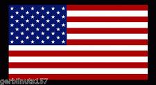 "American Flag sticker die-cut decal 4"" military tactical USA US GLOSS VINYL"