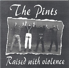 PINTS - RAISED WITH VIOLENCE EP OI SKIN STREET PUNK BATTLE SCARRED CLOCKWORK