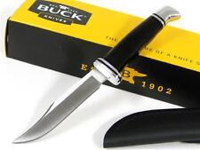 BUCK 102 Phenolic WOODSMAN 0102BKS Straight Fixed Knife + SHEATH! 102BKS