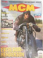 MCM Magazine Nr 6 1999 Del 3: Projekt Custom 2000 Rapport Fran Styret Excelsior