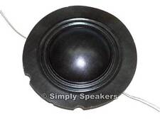 EV TAPCO 100S Factory Speaker Diaphragm Electro Voice Tweeter Repair Part