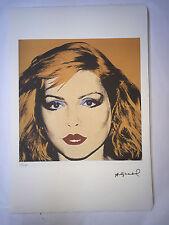 Andy Warhol Litografia 57 x 38 Arches France Timbro Secco Galleria Arte A076