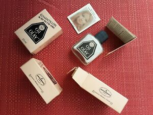 Vintage Collectors Original box - OIL OF OLAY 25ml glass bottle Sample