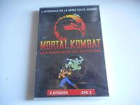 2 DVD - MORTAL  KOMBAT  Les gardiens du royaume -  4 épisodes