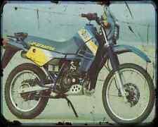 Cagiva Elefant 125 86 A4 Metal Sign Motorbike Vintage Aged