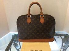 Louis Vuitton handbag/Kelly ALMA Monogram Authentic  Very Vintage  VI1923