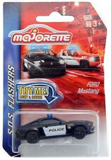 Ford Mustang Boss 302 Police Majorette SOS Flashers 204A 1:64 2017