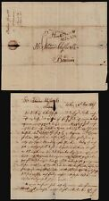 Spain 1817 - Stampless Letter to Bordeaux France E304
