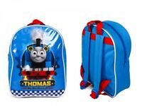 Thomas The Tank Engine Kids Backpack In Blue And Red Colour