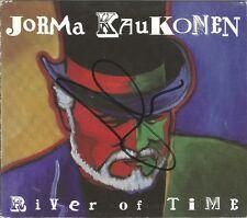 River of Time [Digipak] * by Jorma Kaukonen (CD, 2009) Original Signed