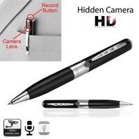 Mini USB Spy Pen HD Video Recorder Hidden Camera Camcorder DVR Support 32G TF TR