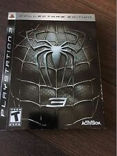 Spider-Man 3 -- Collector's Edition (Sony PlayStation 3, 2007) PS3 COMPLETE!
