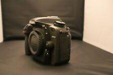 Nikon D7500 DX-Format Digital SLR Body - Black With 2 Batteries 20.9MP, 4K
