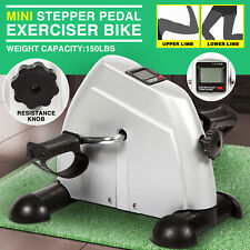 Lightweight  Mini Stepper Pedal Exercise Bike Fitness Home Gym Cycle Leg Arm LCD