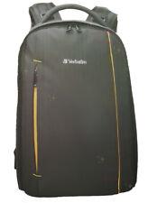 NEW Verbatim Digital Camera Backpack DSLR Travel Bag Lightweight Padded Storage!