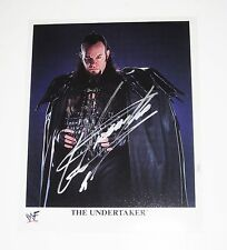 WWE UNDERTAKER P-351 HAND SIGNED AUTOGRAPHED PHOTOFILE PHOTO WITH EXACT PROOF