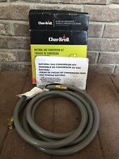 Char-Broil Natural Gas Conversion Hose And Instructions
