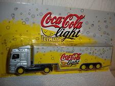 "COCA COLA LIGHT LEMON  MB ACTROS ""   TRUCK 1/87 H0"