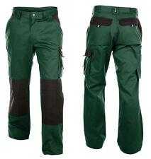 Arbeitshose DASSY Boston 65 Polyester/35 Baumwolle Grün/schwarz 25