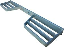 Ajuste rápido resistente Galvanizado Doble van paso Remolque Trasero De Metal